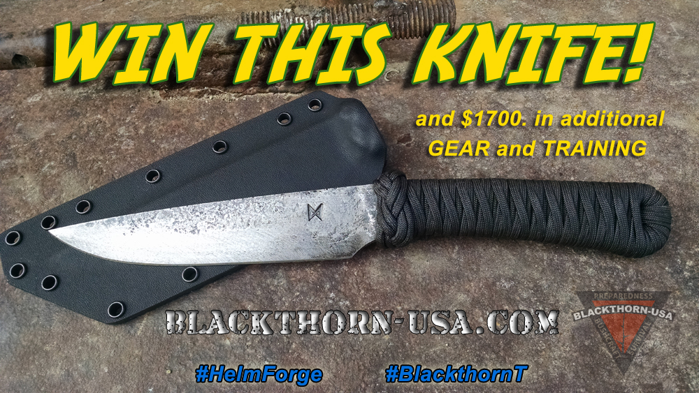 BlackthornT Helm Forge Knife