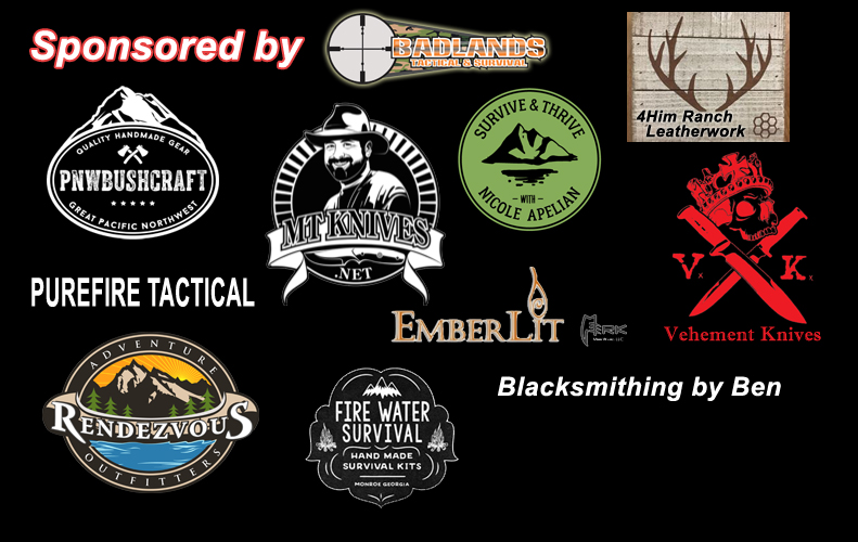 Wilderness Skills Camp 2018 Sponsors