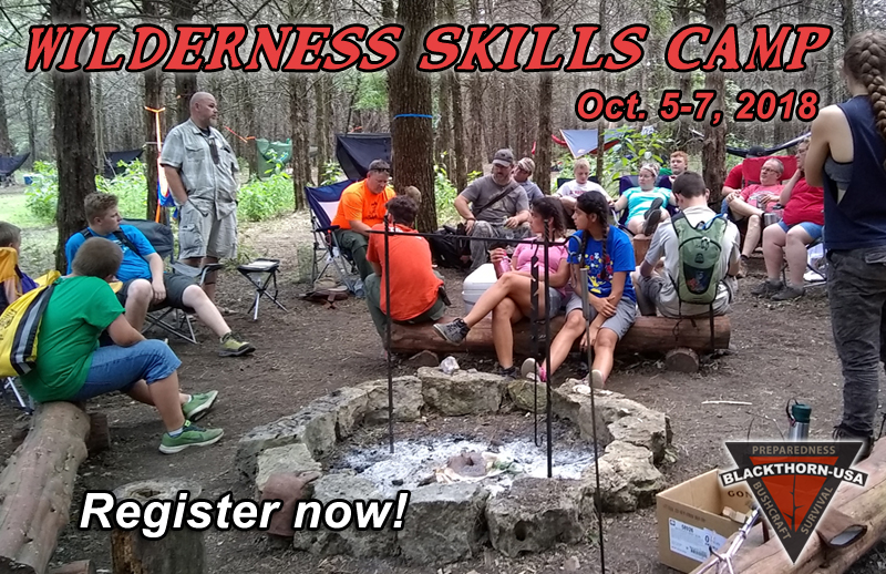 Wilderness Skills Camp 2018