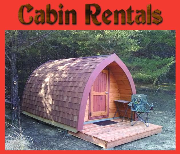 Gothic Pod Rental Cabin